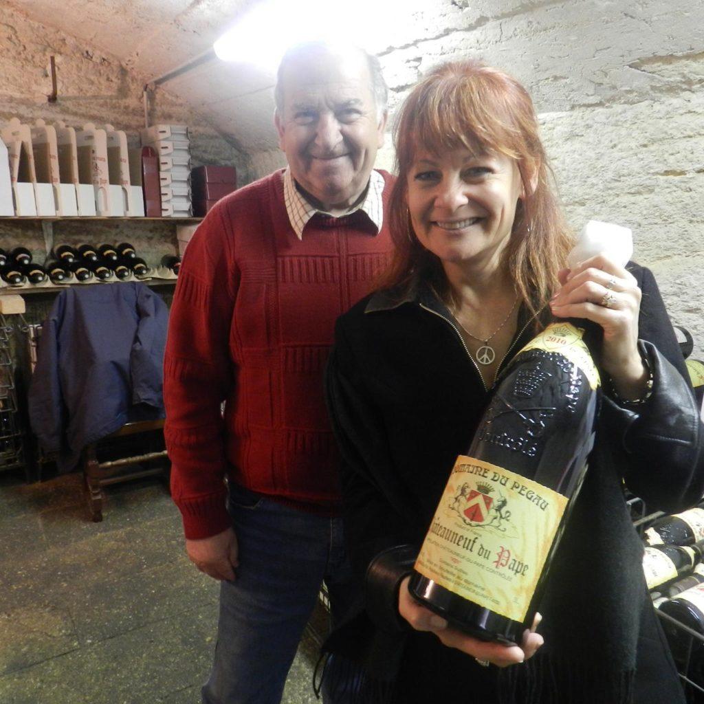 Bottle Of Domaine Du Pegau!
